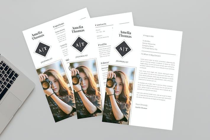 Thumbnail for Stylish CV Resume Designer