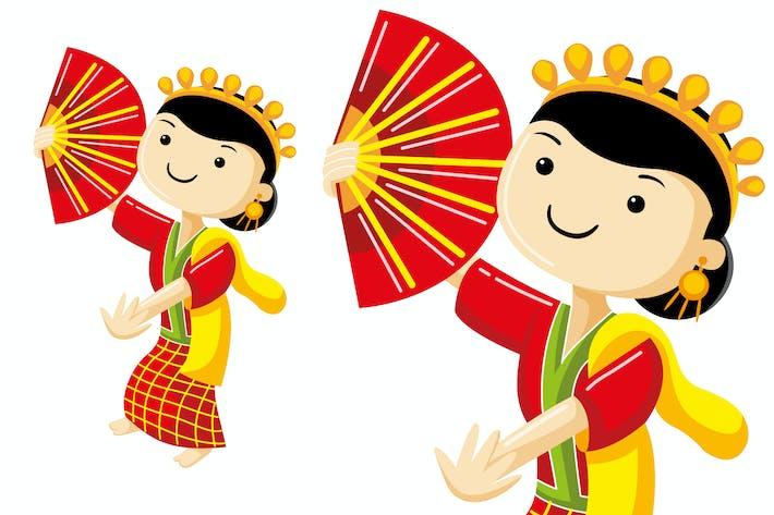 Thumbnail for Pakarena Dance from Makassar