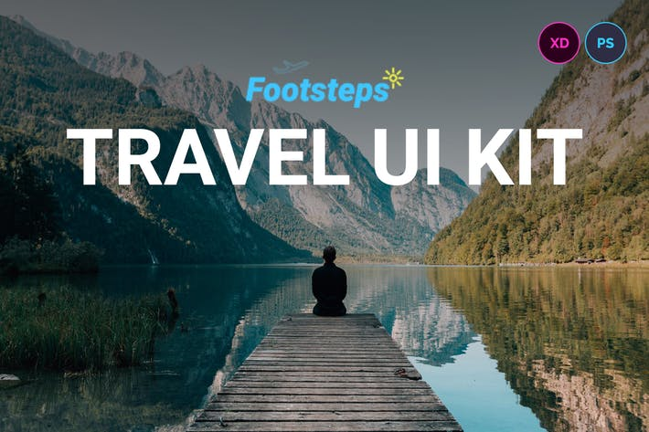 Thumbnail for Footsteps UI Kit