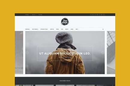 Demo Olimpia   Personal Blog HTML Template