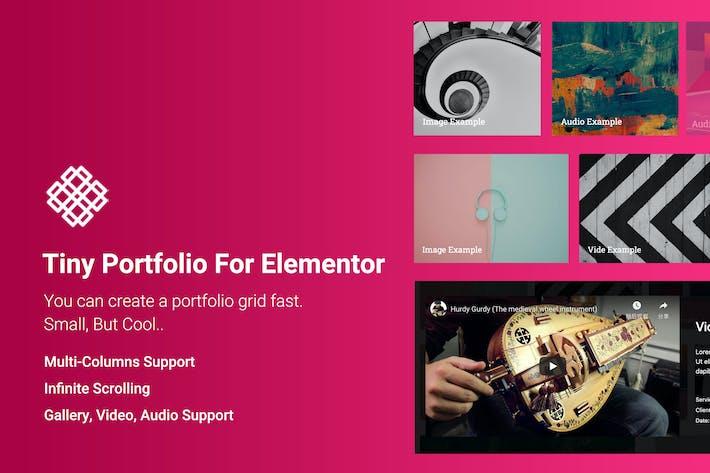 Thumbnail for Tiny Portfolio Widget For Elementor