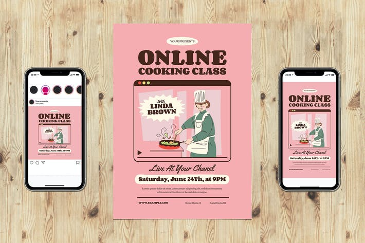 Thumbnail for Midcentury Online Cooking Class