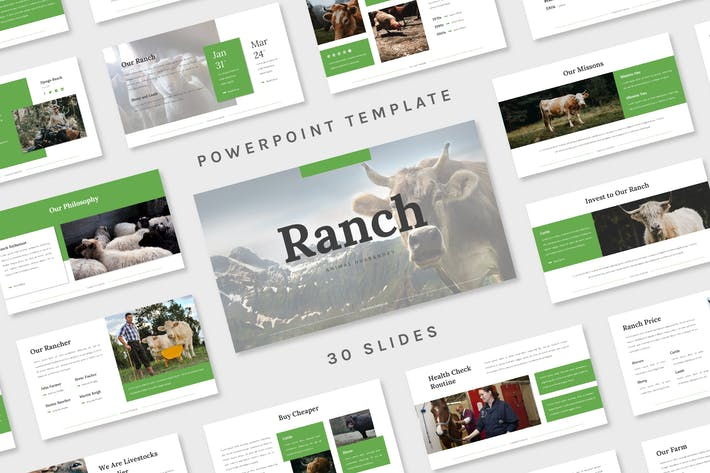 Thumbnail for Ranch - Powerpoint Template