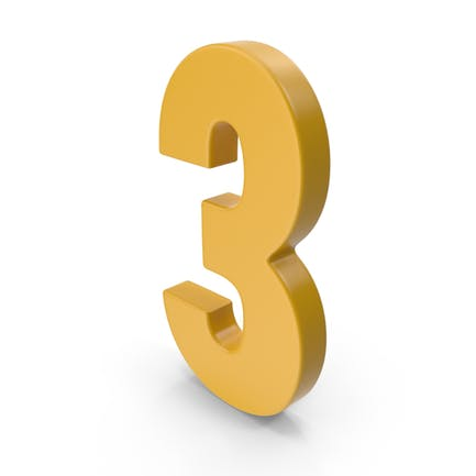 3 Number Yellow