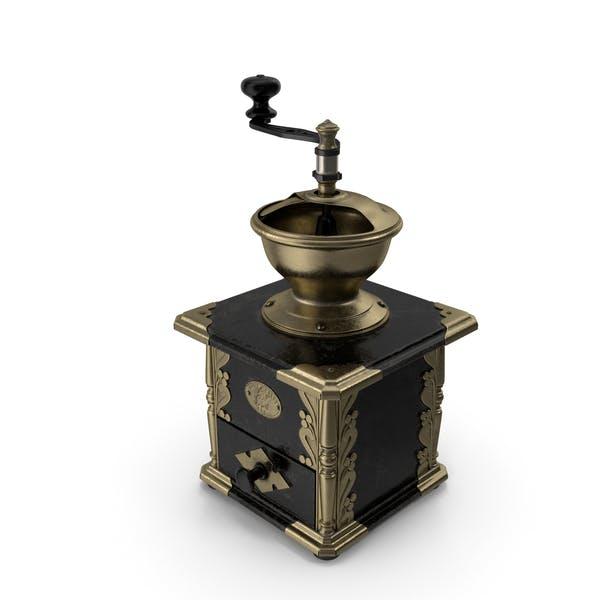 Molinillo de café manual antiguo