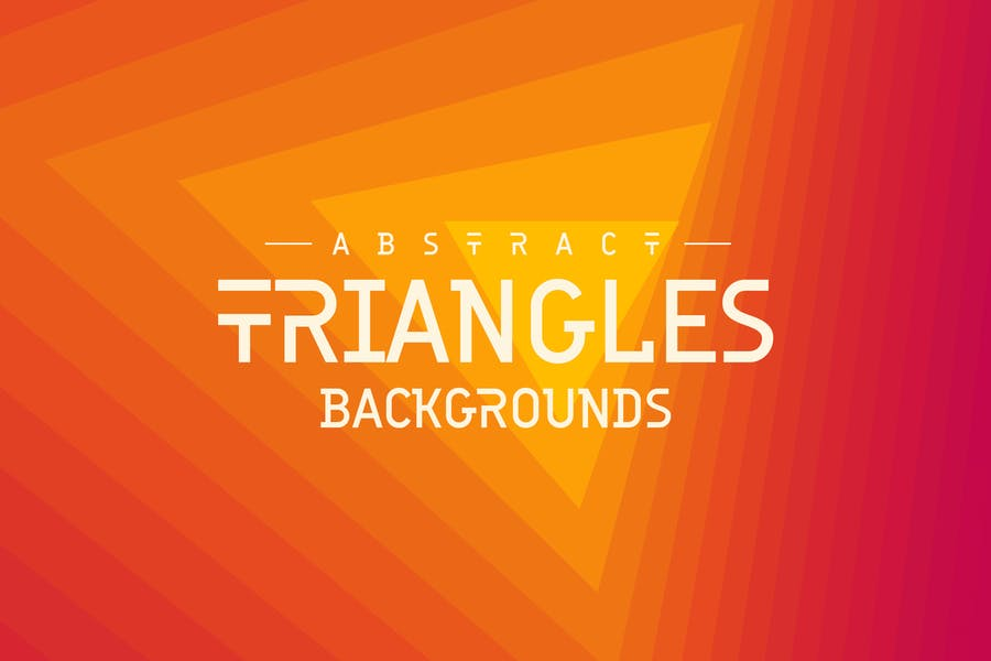 Abstract Triangles Backgrounds