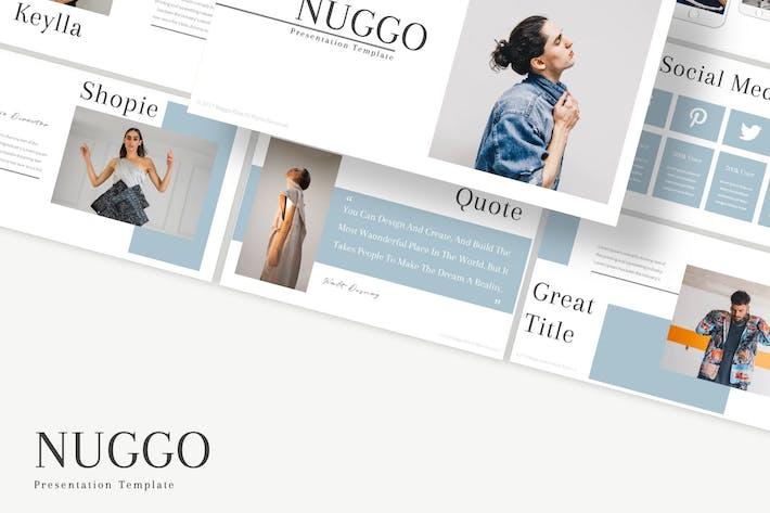 Thumbnail for Nuggo - Google Slides Template
