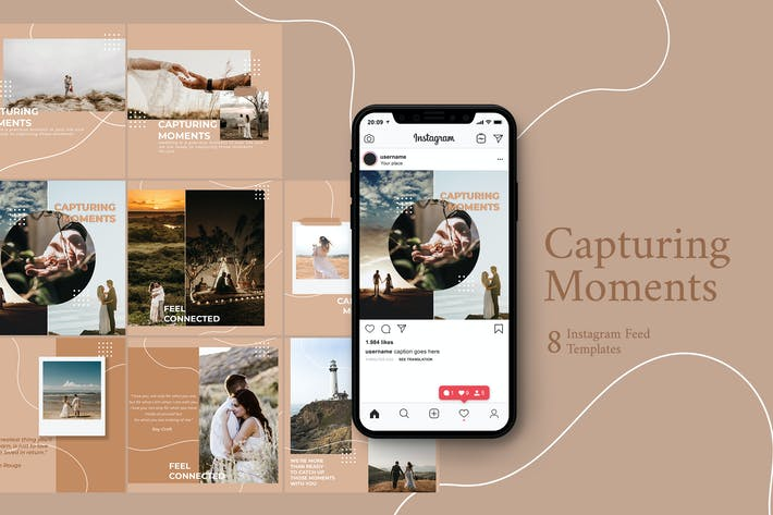 Thumbnail for Wedding Photography - Instagram Post Template