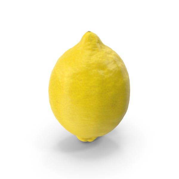 Lemon Standing on End