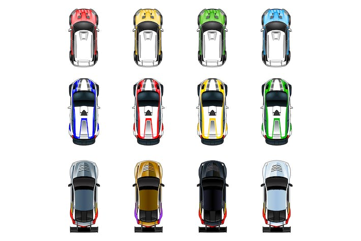 Thumbnail for Cars in Four Colors
