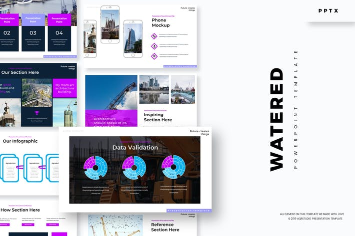 Thumbnail for Watered  - Powerpoint Template