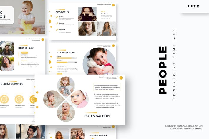 People - Powerpoint Template