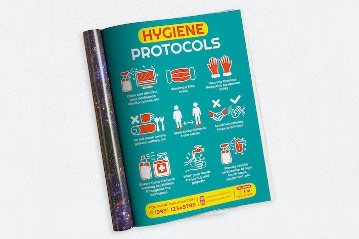 Thumbnail for Hygiene Protocols Ads Magazine