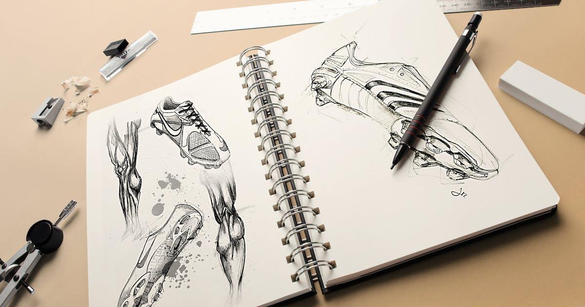 Download Sketchbook Mock-up by vasaki