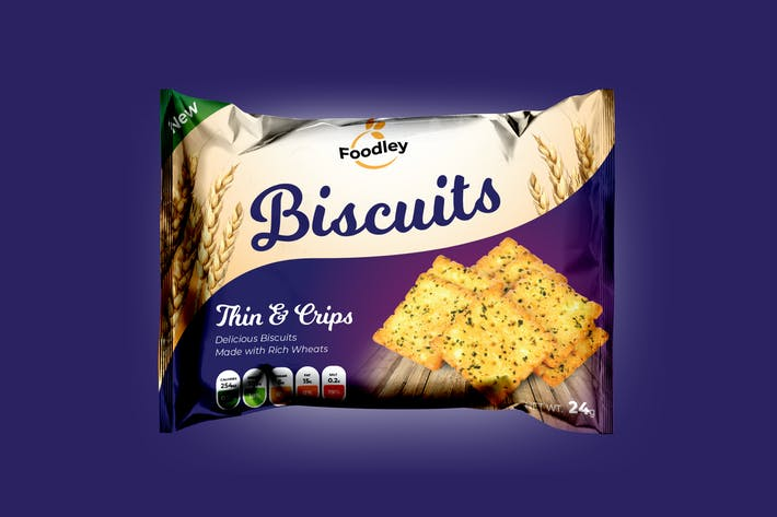 Thumbnail for Biscuit Packaging Design - Scalable