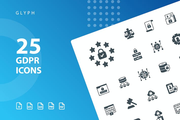 Thumbnail for GDPR Glyph