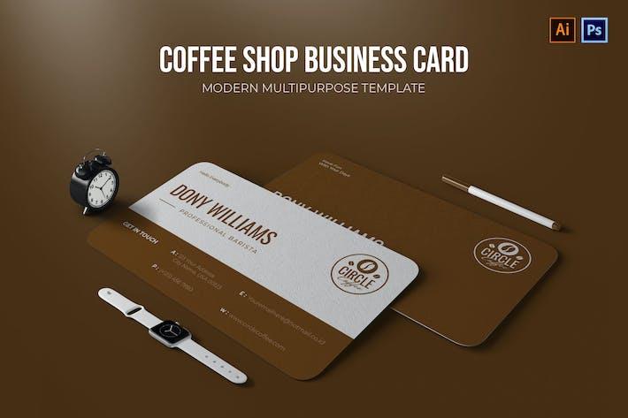 Café - Visitenkarte