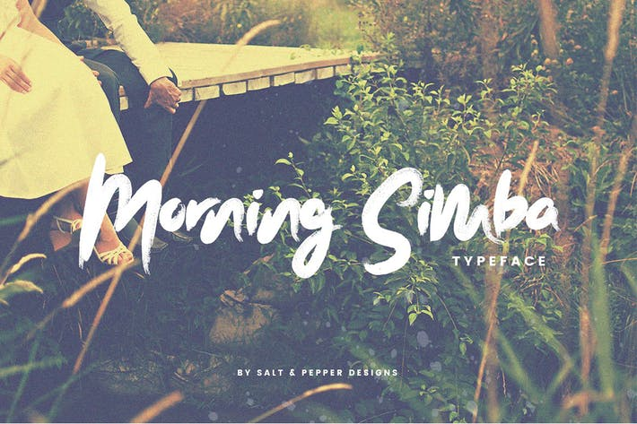 Thumbnail for Morning Simba Font