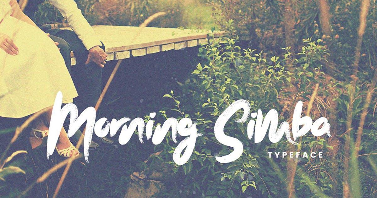 Download Morning Simba Font by maroonbaboon