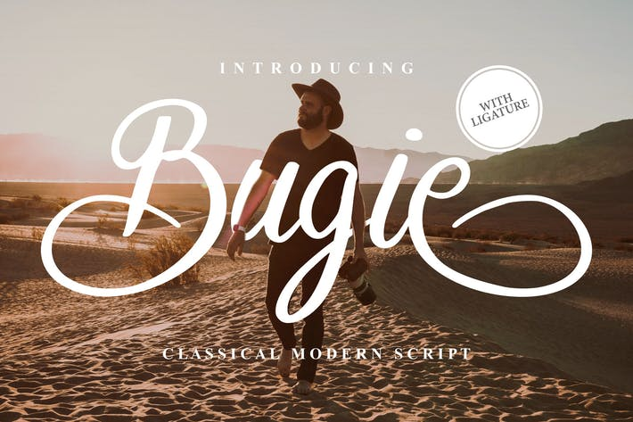 Thumbnail for Bugie Classical Modern Script