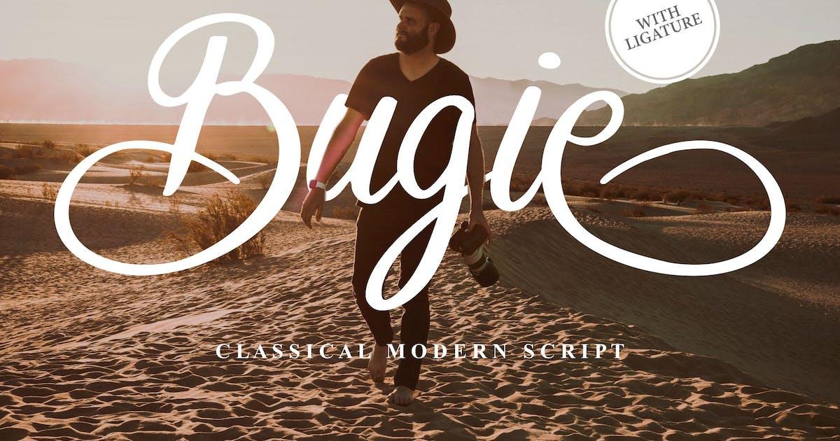 Download Bugie Classical Modern Script by Fannanstudio