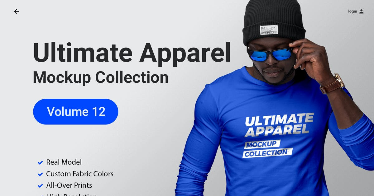 Download Ultimate Apparel Mockup Vol. 12 by Genetic96