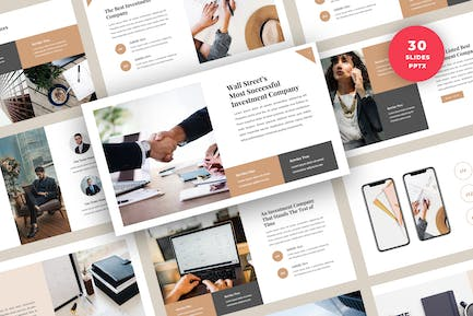 Finance & Investment PowerPoint Template