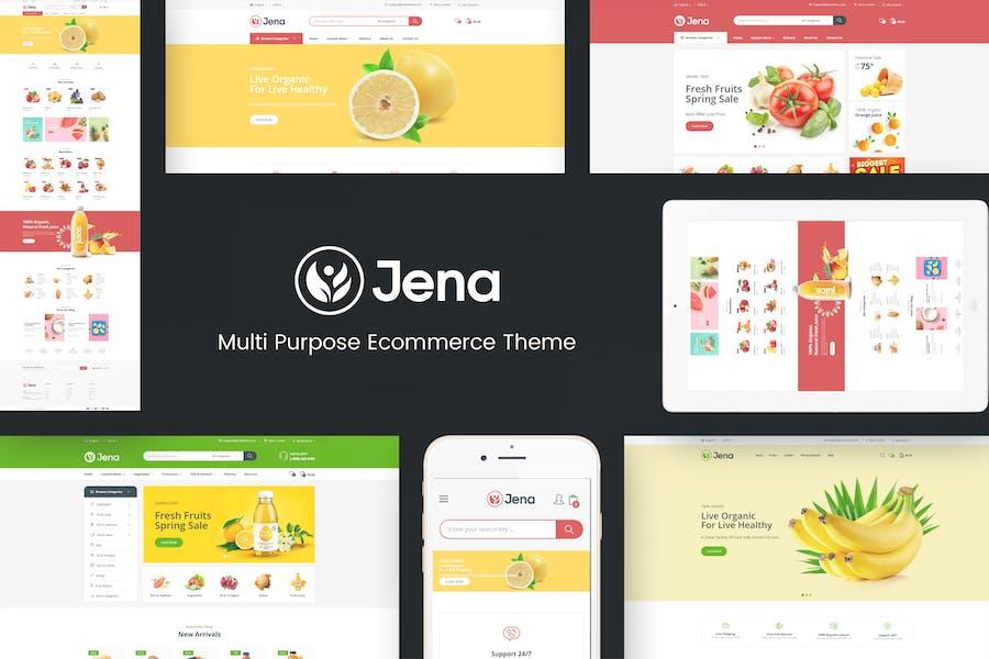 Jena - Thème Prestashop Bio & Food Responsive