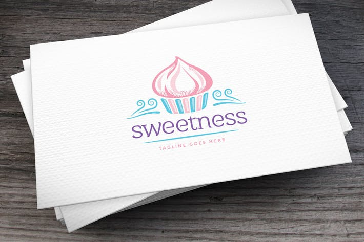 Thumbnail for Cupcakes Logo Template