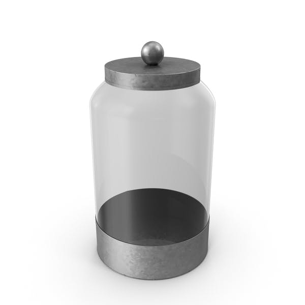 Glass Food Canister
