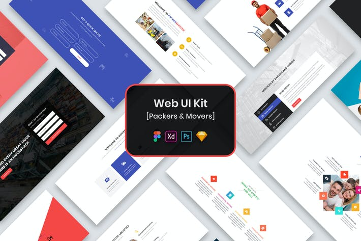 Packers & Movers Web UI Kit