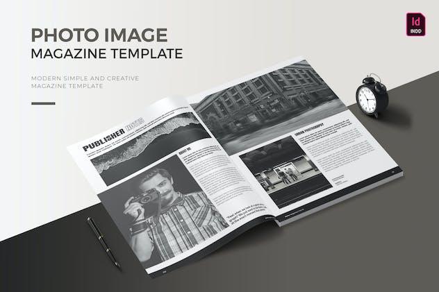 Photo Image | Magazine Template