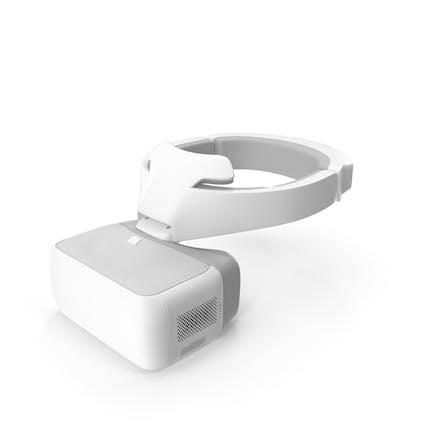 FPV Drone Googles White
