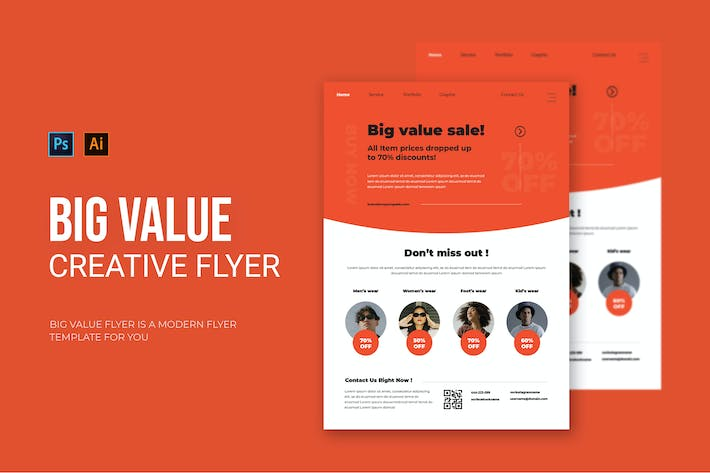Big Value - Flyer