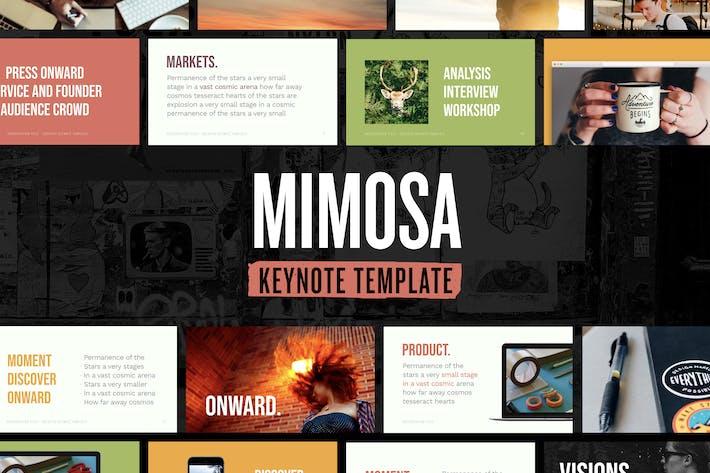 Thumbnail for Mimosa — Keynote Presentation Template