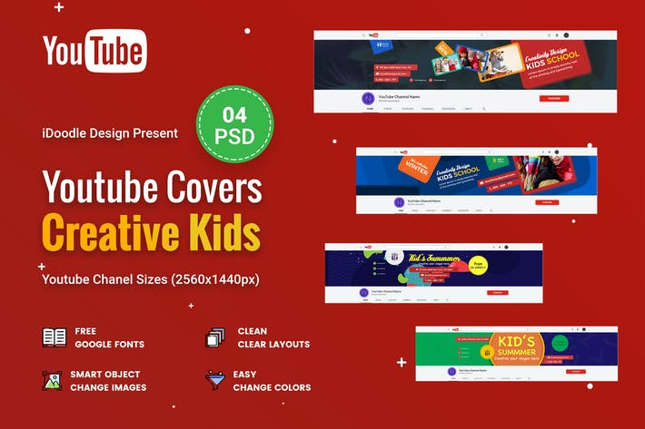Thumbnail for Creative Kids,Children Youtube Chanel