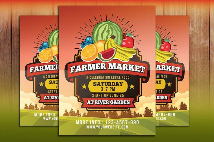 Thumbnail for Farmer Market Flyer