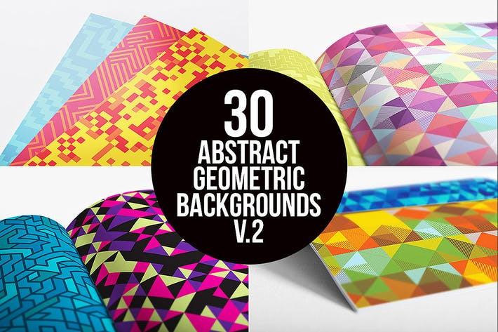 Thumbnail for Abstract Geometric Backgrounds v.2