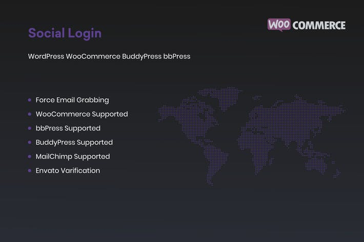 Social Login for WordPress WooCommerce BuddyPress