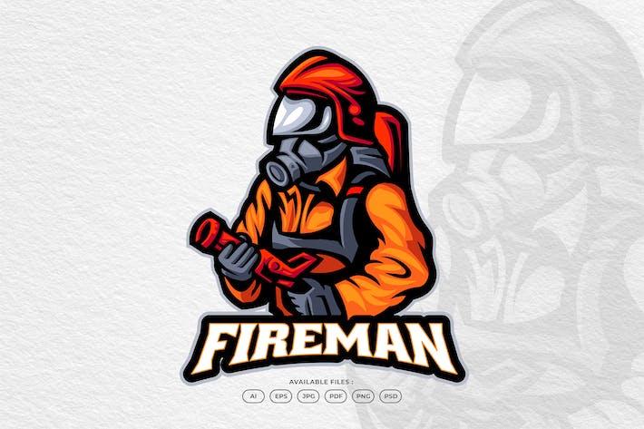Firefighter Hero Rescue Danger Fire Burn Emergency