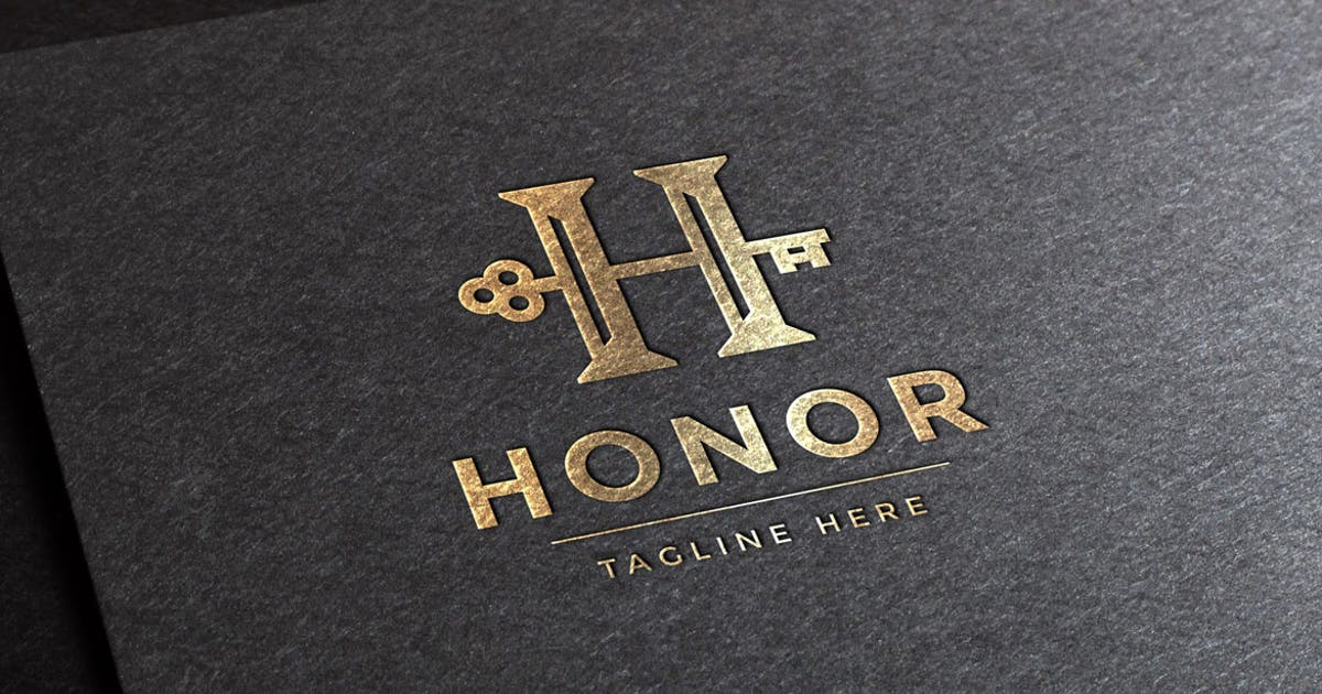 Honor Letter H Logo Template by empativo