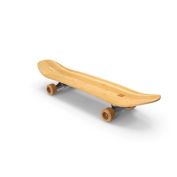 Skateboard Bambus
