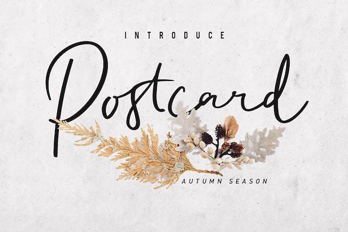 Thumbnail for Postcard Script