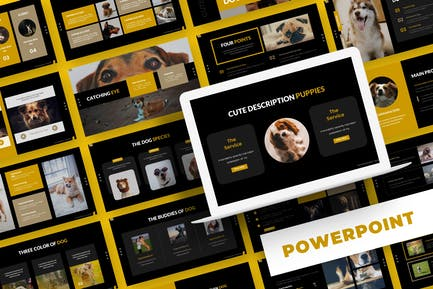 Dog Wink - Powerpoint Template