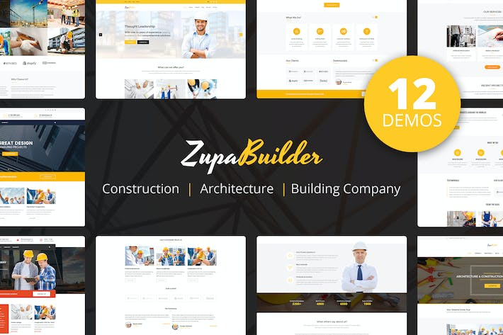 Thumbnail for ZupaBuilder – Building and Architectural PSD