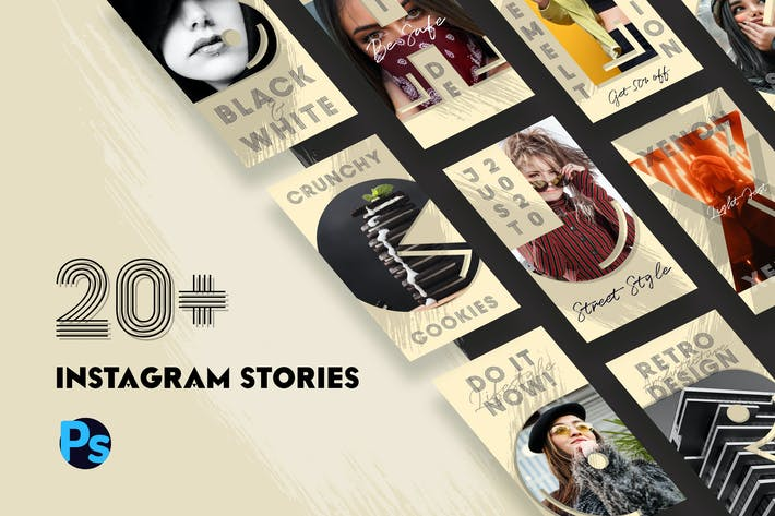 Thumbnail for Instagram Stories Template