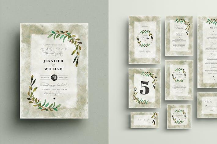 Thumbnail for Hochzeitseinladungs-Set
