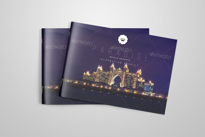 Cover Image For Brochure for Hotels and Resorts