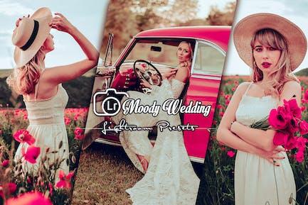 Moody Wedding LIghtroom Presets