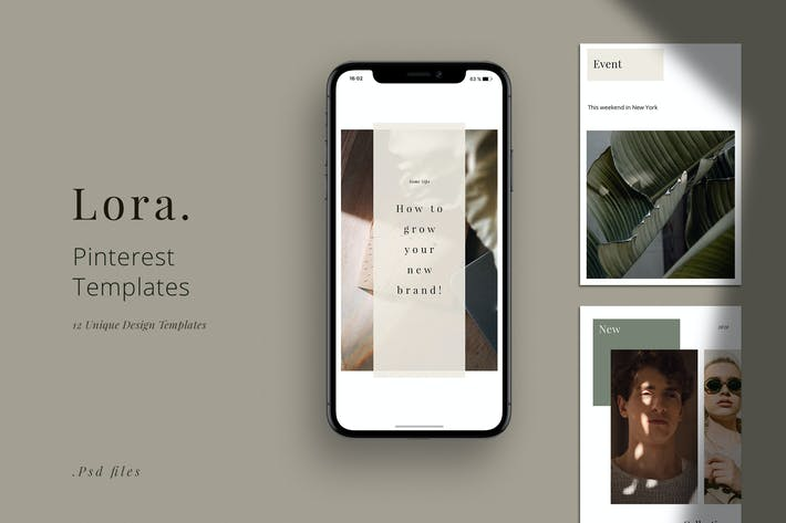 Thumbnail for LORA - Pinterest Template